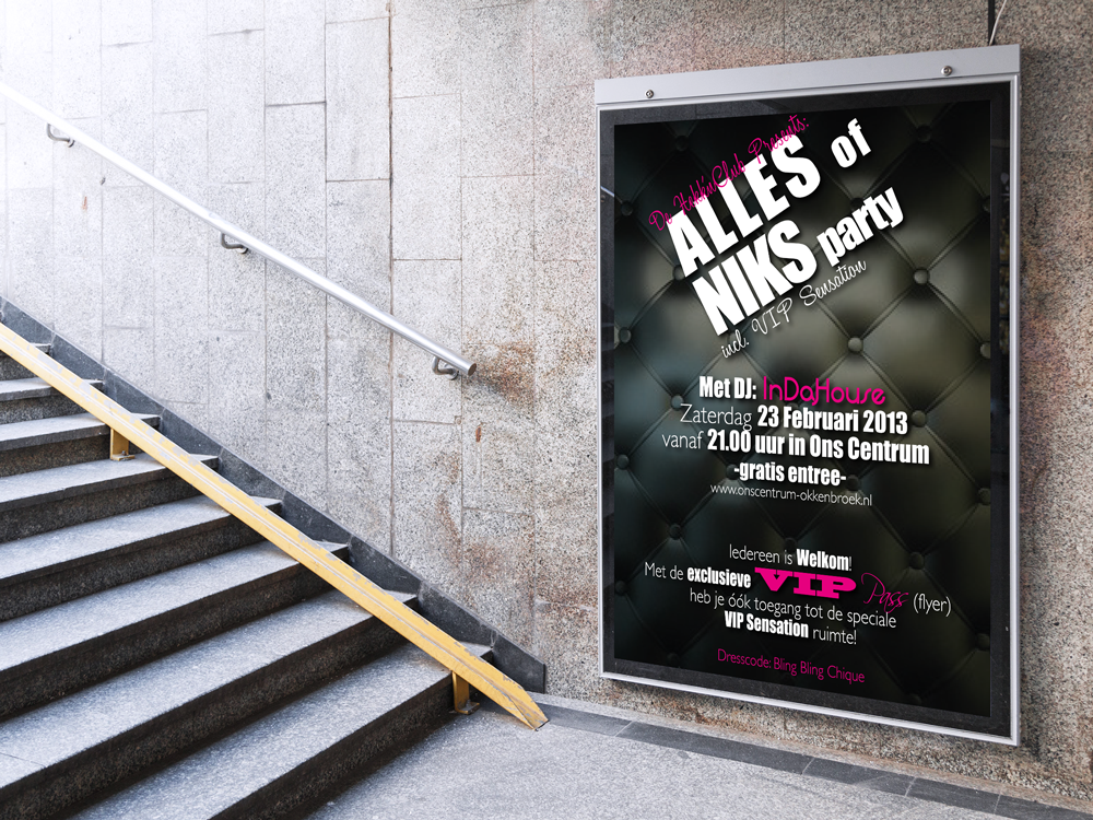 Poster Alles Of Niks